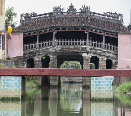 Japanese Covered Bridge in Hoi An, Viet Nam